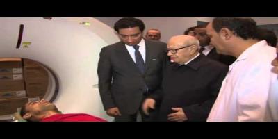 Le Président Essebsi au chevet des blessés de l'attentat de Tunis