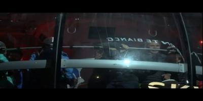 33 personnes suspendues toute la nuit dans un téléphérique ( En Vidéo)