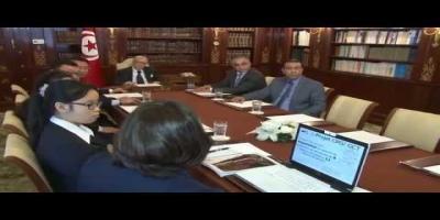Béji Caïd Essebsi reçoit une délégation chinoise (vidéo)