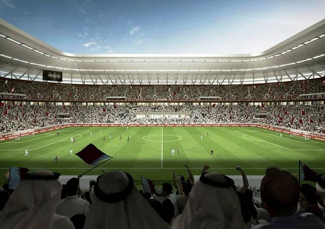Premier stade entièrement démontable pour la Coupe du Monde Qatar 2022