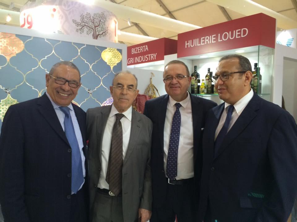 Présence remarquée des membres du conseil d'affaires Tuniso-Emirati relevant de l'UTICA