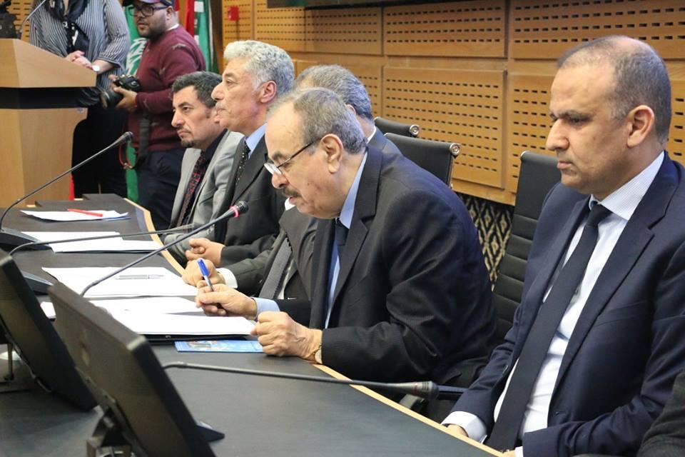 Jamil Abdelkader au coté de Wadï El Jarry
